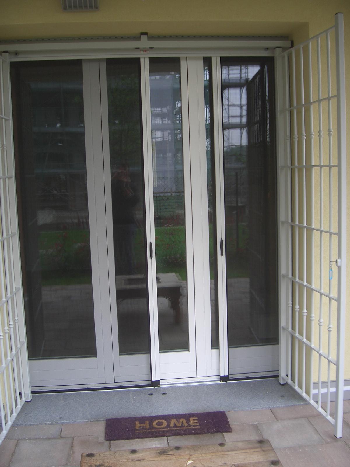 Zanzariere a scorrimento laterale per finestre di grandi - Ikea zanzariere per finestre ...